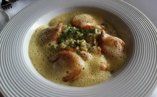 Etoile Cuisine Et Bar | Houston, Texas | Risotto de Crevettes au Safran