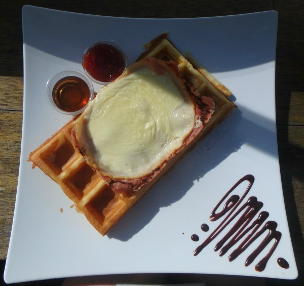 Moore Coffee Shop | Seattle, Washington | Monte Cristo Waffle