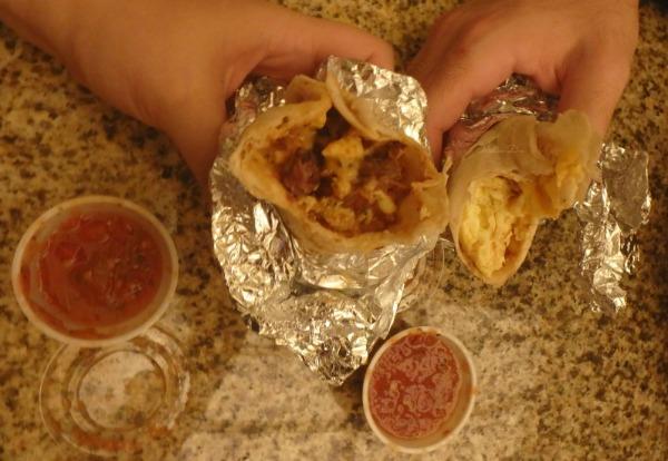 Pappasito's Cantina | Hobby Airport | Houston | Barbacoa, Egg, & Cheese Tacos