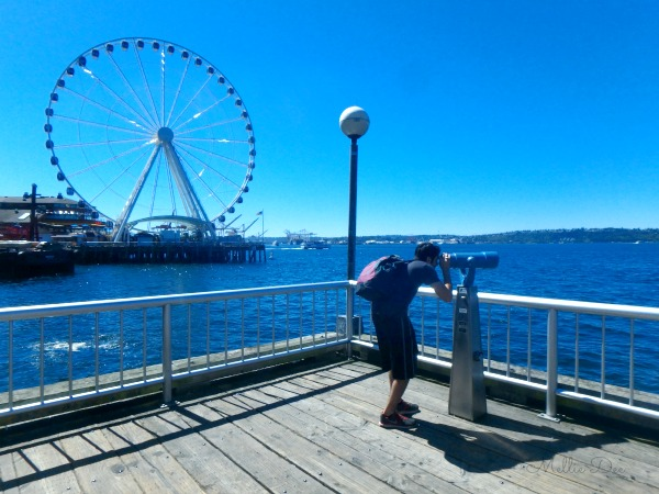 Seattle Aquarium | Seattle, Washington | Scruffy & his Telescope