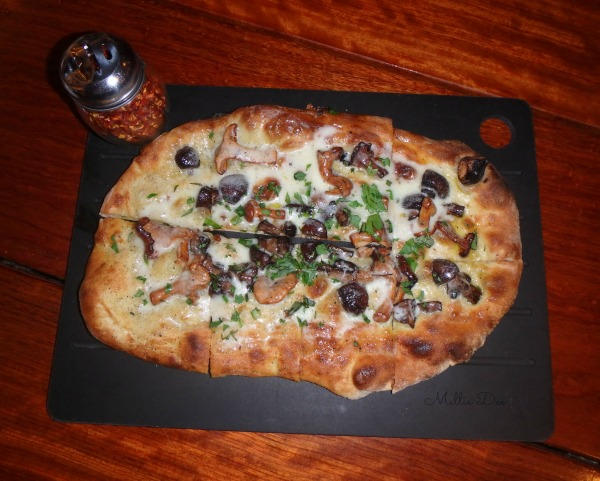 Serious Pie | Seattle, Washington | Roasted Seasonal Mushrooms with Truffle Cheese
