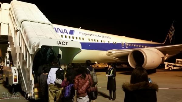 ANA Aircraft | Boarding from Narita to Hong Kong