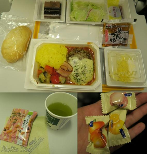 ANA Aircraft | Narita to Hong Kong Food