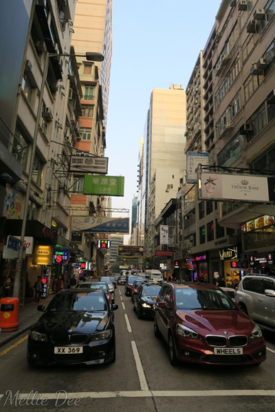 Hong Kong Traffic & Street