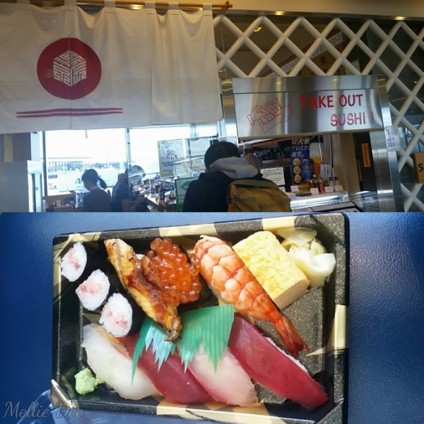 Sushi Take Out | Narita Airport | Narita, Japan