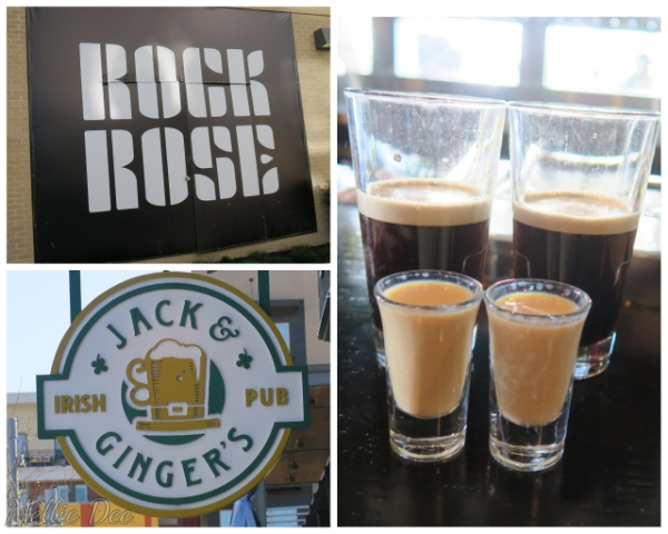 Rock Rose | Jack & Ginger's Irish Pub | Austin, Texas | Irish Car Bombs