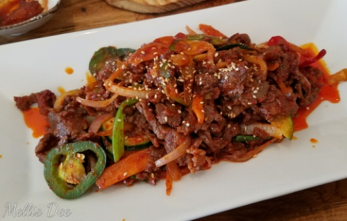 Tasty Ko. Korean Restaurant | Katy, Texas | Spicy Beef Bulgogi Bokkeum