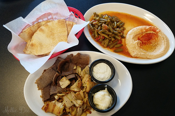 Saeed's Mediterranean Grill   Houston, Texas   Combo Plate #2