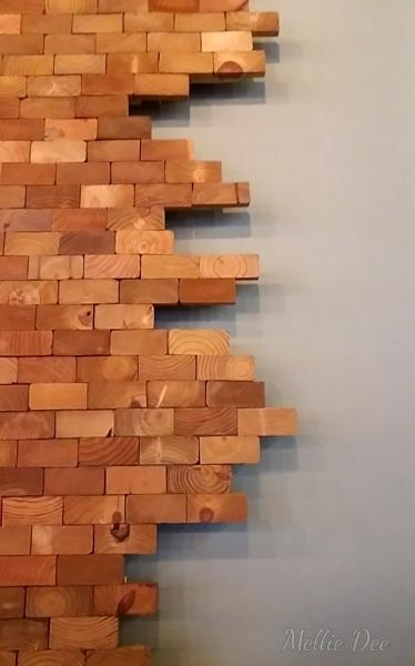 Fix Coffeebar | Houston, Texas | Wooden Wall Mural
