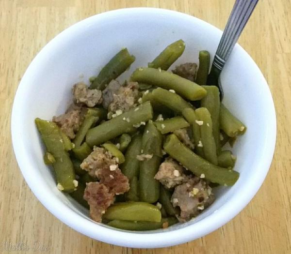 2018 | 028/365 | Sausage Green Beans