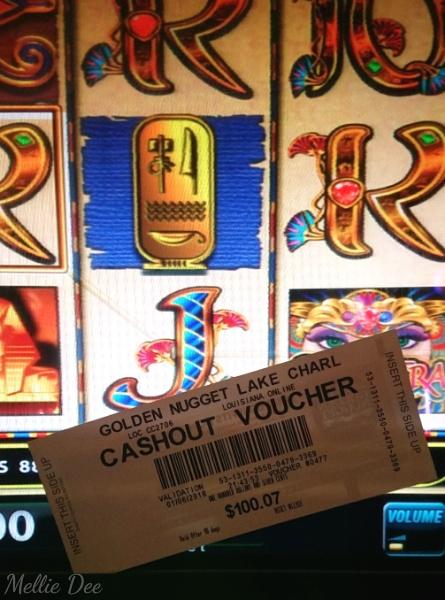 Golden Nugget Casino   Lake Charles, Louisiana   Slot Winner