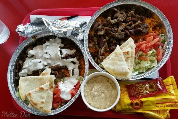 2018 | 042/365 | The Halal Guys | Gryo Platter and Baba Ganoush