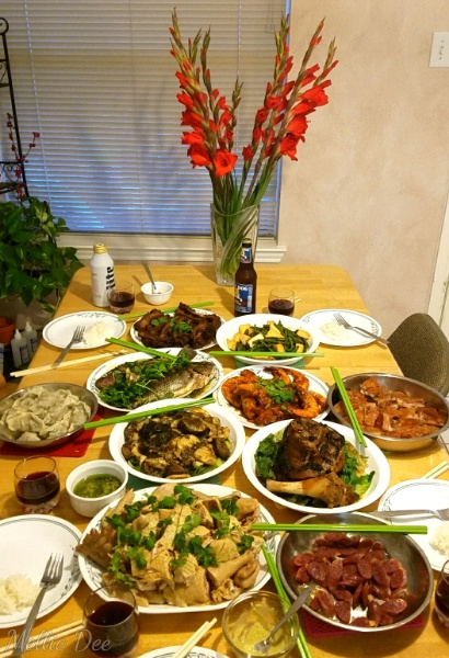 2018 | 046/365 | Chinese New Year's Eve Dinner