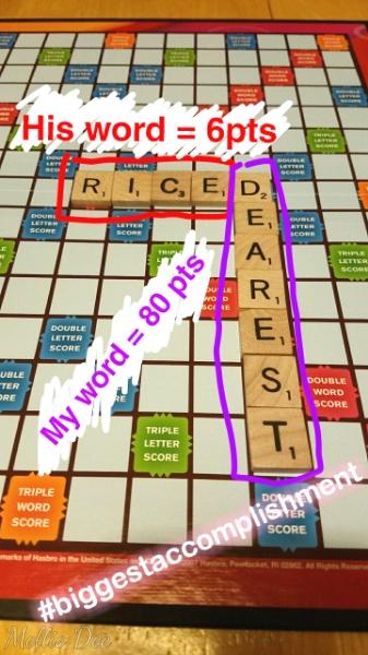 2018 | 047/365 | Scrabble in Scrabble