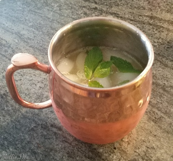 Homemade Moscow Mule