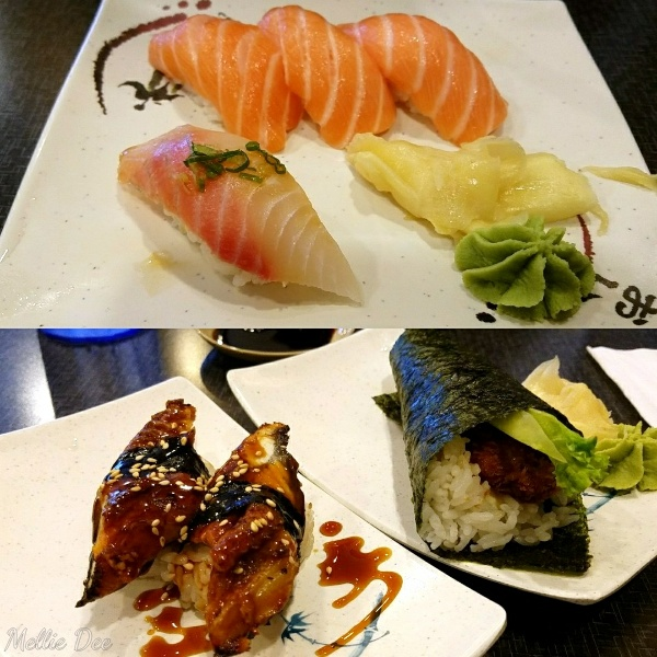 Ichiban Sushi & Tapioca | Sugar Land, Texas | Nigiris and Handroll
