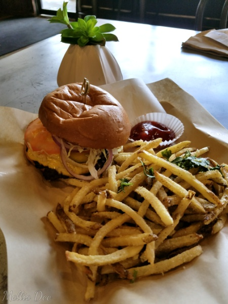 Laikh House Gourmet Cafe | Houston, Texas | All American Burger with Parmesan Fries