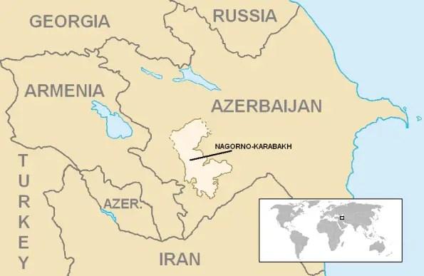 Location Nagorno Karabakh2