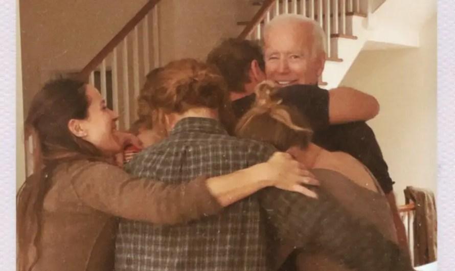 Naomi Biden celebrates his grandfather Joe Biden in an emotional family post