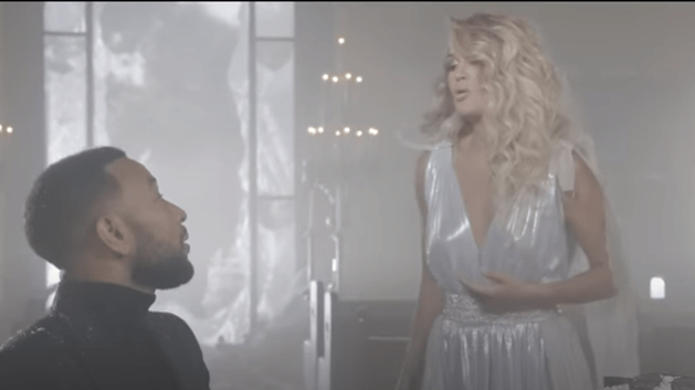 Carrie Underwood and John Legend – Hallelujah (Official Music Video)