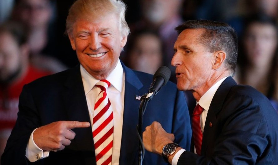 President Donald Trump pardons Michael Flynn the former National Security Adviser