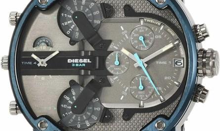 Diesel DZ7414 Mr. Daddy 2.0 Chronograph Blue Stainless Steel Men's Watch