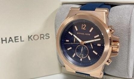 Michael Kors MK8295 Dylan Chronograph Navy Dial Men's Watch