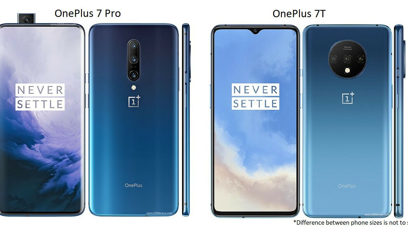 OnePlus 7 Pro / 7T 128GB/ 256GB T-Mobile AT&T OR GSM Unlocked Android Smartphone