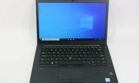 """Dell Latitude 7480 14"""" (256GB,Core i5 7th Gen. 2.6GHz,16GB DDR4)"""