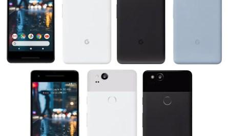 Google Pixel 2 / 2XL - 64/128GB  - Black / Blue / White - Unlocked - Smartphone