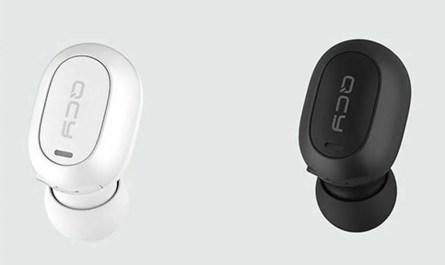QCY Single Stereo Earphone Bluetooth 5.0 Wireless in-Ear Mini Earbud with
