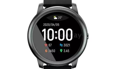 Bluetooth Smart Watch For iphone IOS Android Black Haylou Solar LS05 sports IP68