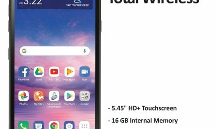Total Wireless LG Journey� 4G LTE Prepaid Cell Phone