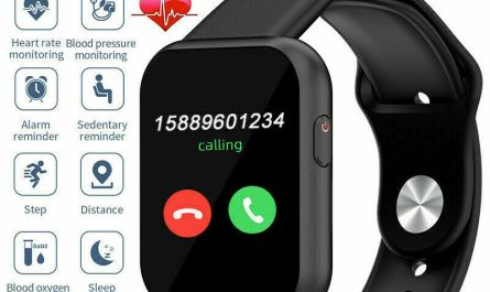 Touch Bluetooth Smart Watch Sports Fitness Tracker Phone Mate For iPhone Android
