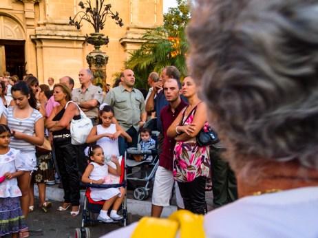Procession de la Marija Bambina à Naxxar, Malte