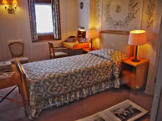 La chambre de la Reine Elizabeth