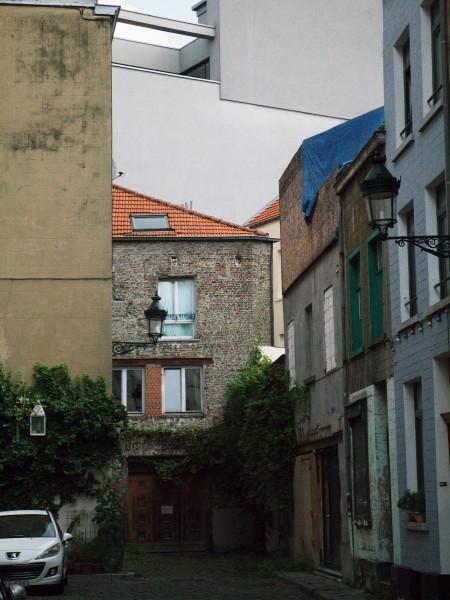 L'ancien quartier des ateliers, à côté de l'ancie port de Bruxelles