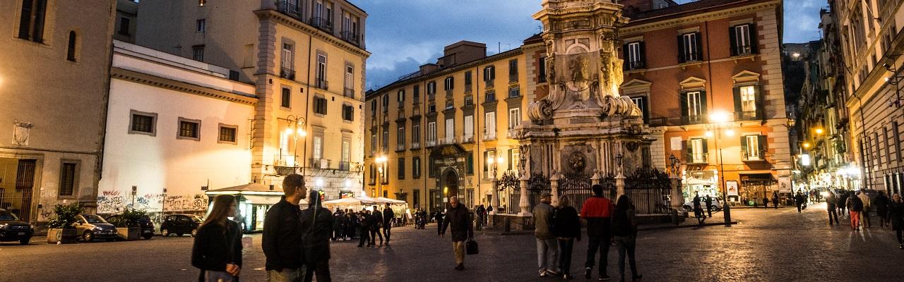 48 heures à Naples, 1ère partie : Plaisirs célestes, délices terrestres