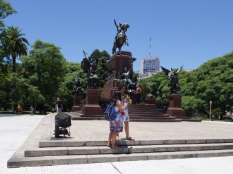 Buenos Aires, Plaza General San Martin