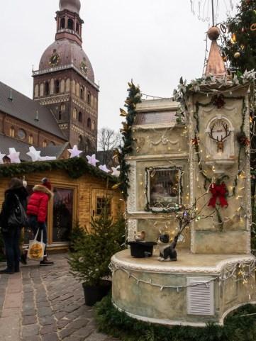 Riga, marché de Noël