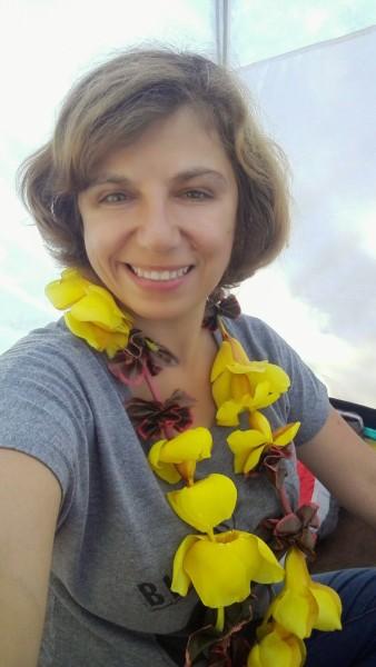 Dans la tente, à Rapa Nui