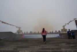 Le sommet doré de Emeishan