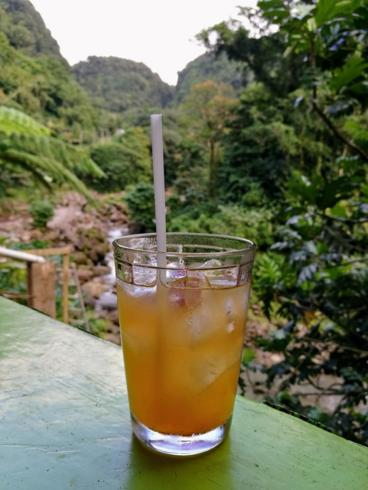 Rhum Punch au River Rock Café