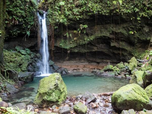 Emerald Pool Dominique