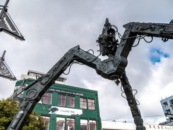 """The Tripod"", Wellington"