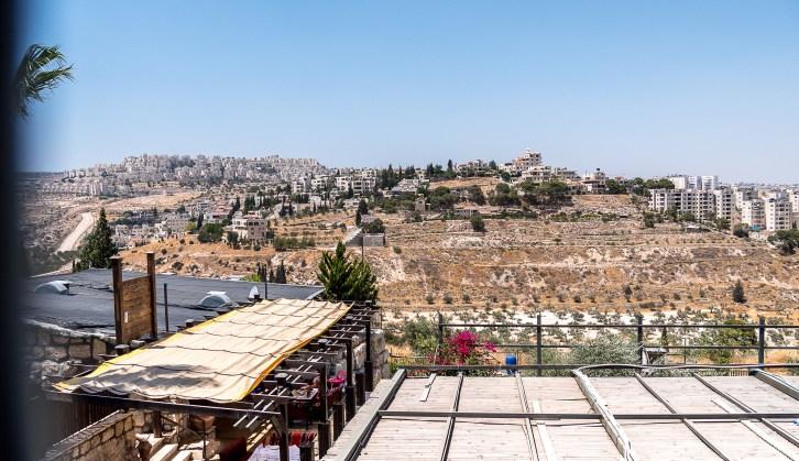 Colonie israëllienne vue de Bayt Sahur