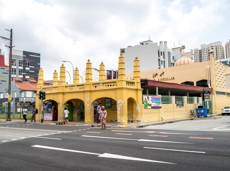 Les rues de Little India, Singapour