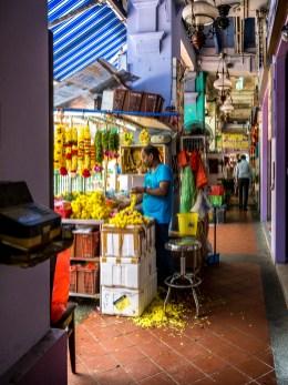 Les rues de Little India, Singapour