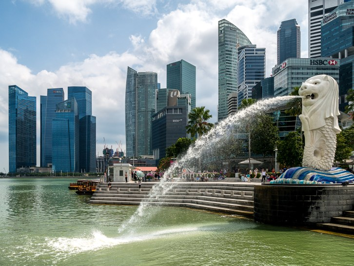 Singapour, Merlion