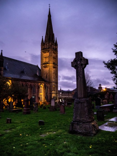 Inverness, Ecosse : Old Hight Church